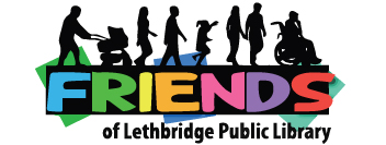 Friends Of The Lethbridge Public Library Logo